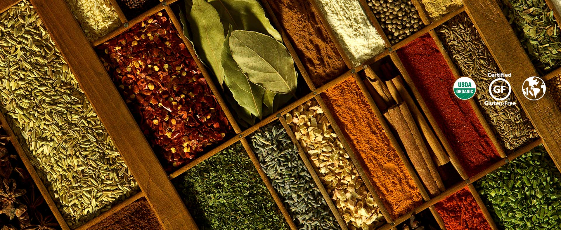 Premium Organic Spices